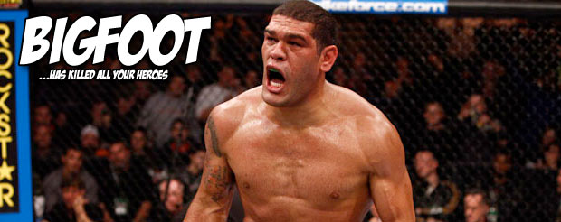 Bigfoot Silva just came back to decimate The Reem in the third round!