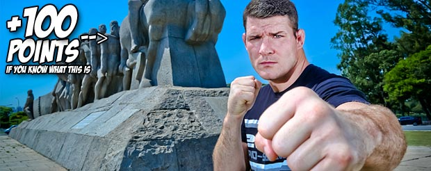Watch a mildly drunk Michael Bisping talk about being bullied in school because he was poor