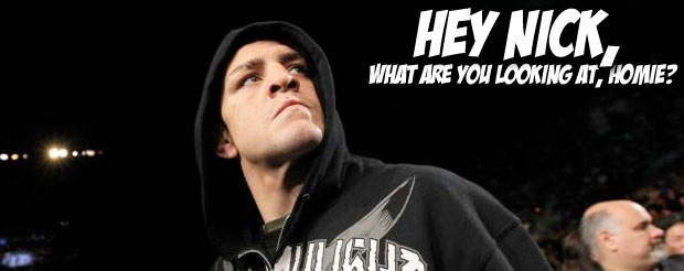 It begins once again: Nick Diaz, Dana White and the whacky world of promo shooting
