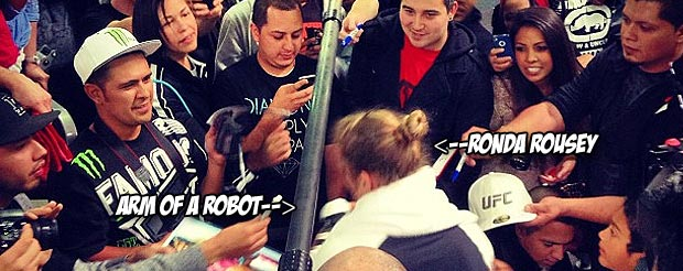 Check out LayzieTheSavage's look into the UFC 157 media blitz surrounding Ronda Rousey
