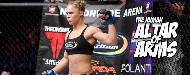 Ronda Rousey vs Liz Carmouche has sold more tickets than Cain Velasquez vs Junior Dos Santos