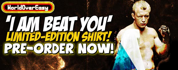 We actually did it, get the 'I Am Beat You' Alexander Shlemenko shirt NOW!