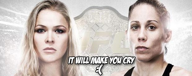 If you missed the UFC Primetime: Rousey vs. Carmouche episode that everyone is talking about, watch it here