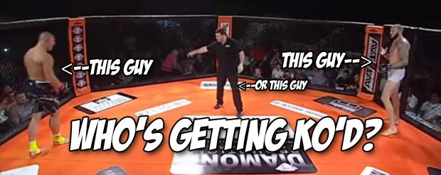 Your Wednesday morning needs a little 9-second brutal KO action in it
