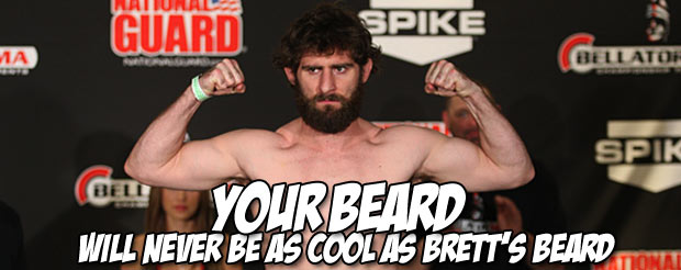 Brett Cooper just mounted an incredible 3rd round comeback KO led by his heart and beard