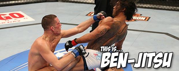 Watch Ben Henderson compete in the Arizona Open JiuJitsu tournament with his powerful BenJitsu
