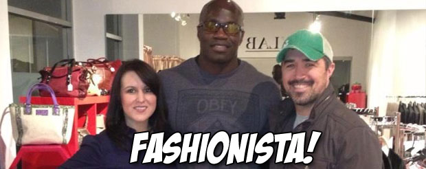 Cheick Kongo opened up a European fashion boutique in West Hollywood and you didn't even know