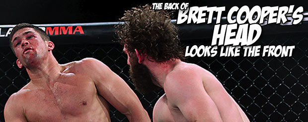 """Brett Cooper wouldn't mind putting a """"whoopin' on the Russian"""" (Shlemenko!)"""