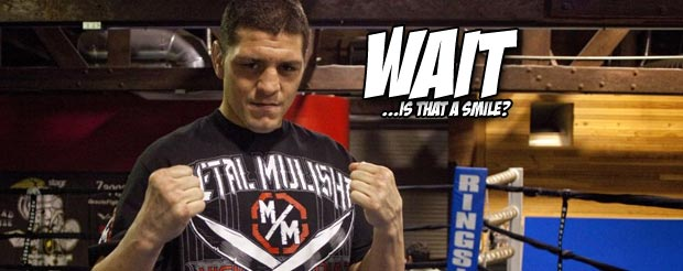 Here's your new Nick Diaz vs. Georges St. Pierre comic of the day