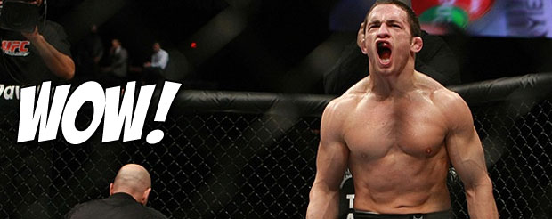 Jake Ellenberger may win .gif of the night with his KO over Nate Marquardt at UFC 158