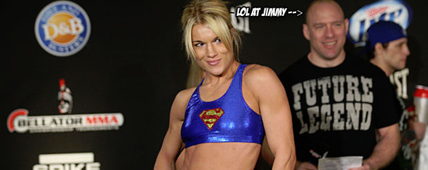 If you missed Felice Herrig's heated Bellator 94 weigh-in, check it out here