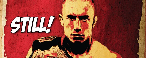 Georges St. Pierre is STILL the champion, Nick Diaz retires…again