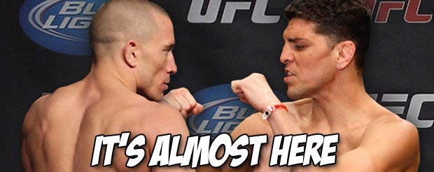 Check out today's entire Nick Diaz vs. Georges St. Pierre conference call right here