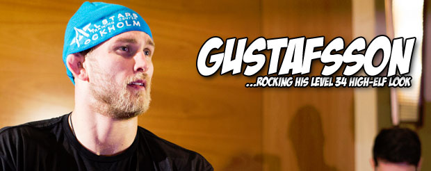 Take a tour inside Alexander Gustafsson's 'crib,' that's how you say it in Swedish