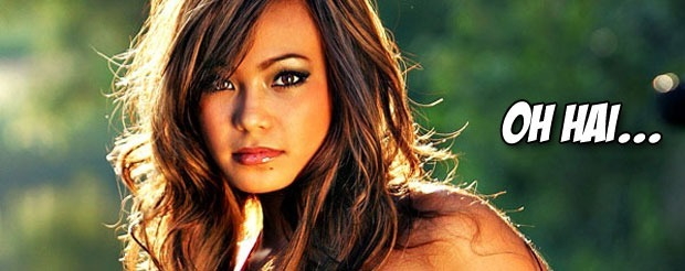 Michelle Waterson is contorting her body like a paperclip in preparation for Jessica Penne at Invicta 5