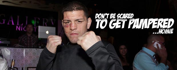 Nick Diaz arrives at the Montreal airport, gets pampered, and videos it
