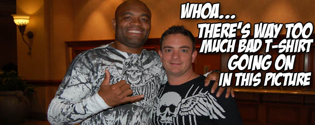 If you want to hear Anderson Silva get in depth about fighting Chris Weidman this is not the video for you, but you're still going to like it anyway