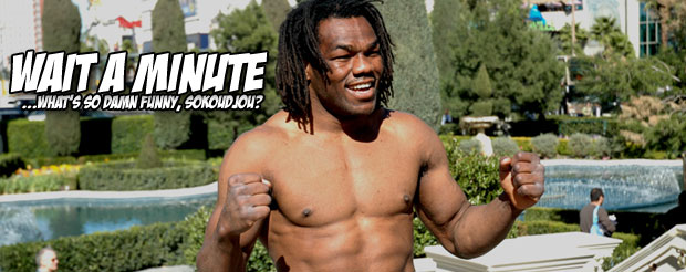 Sokoudjou gets called out even when he wasn't smack talking in this hilarious Road FC promo