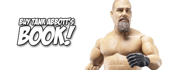 Tank Abbott is even cutting promos for his upcoming fight with Warpath, check it out