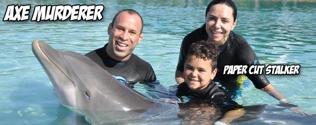 Watch Wanderlei Silva coach his son Thor in his first jiu-jitsu tournament