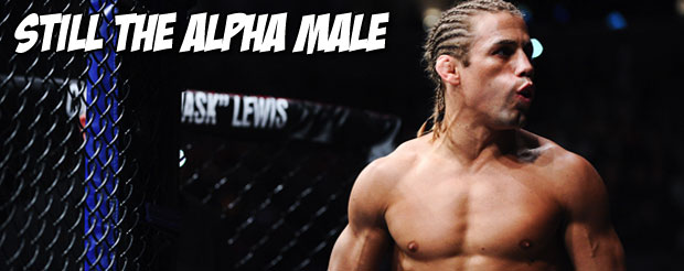 With a rear naked choke win over Scott Jorgensen, Urijah Faber remains the Alpha Male