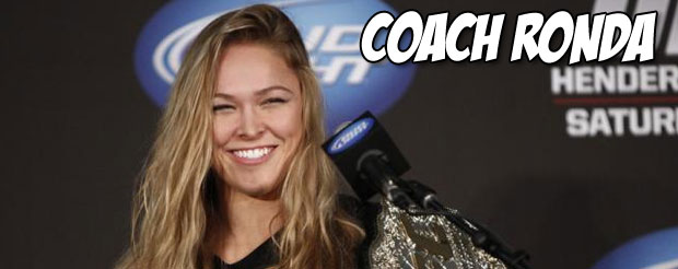 It's best to ask Ronda Rousey concise questions about Fallon Fox in the media scrum, or this will happen to you