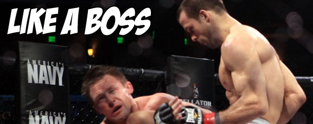 Let's watch Pat Curran's boss submission of Shahbulat Shamhalaev over and over again