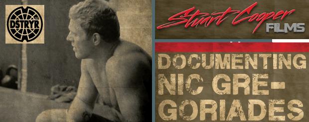 Stuart Cooper presents: Nic Gregoriades/The Journey Never Ends