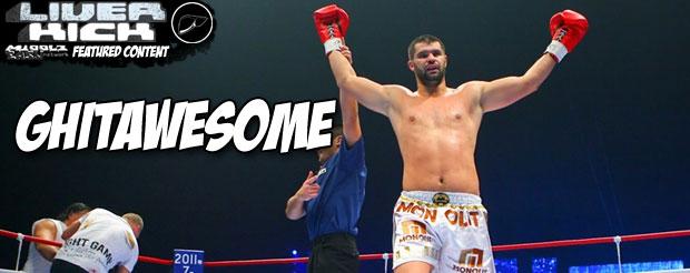 Daniel Ghita is ready to do battle with Gokhan Saki at Glory 6