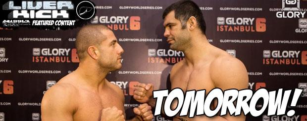 Glory 6 Weigh-Ins – Daniel Ghita: 108.8kg, Gokhan Saki: 108.5kg