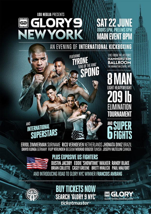 Full Glory 9 New York poster, more participants revealed