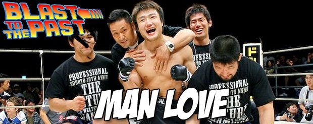 Blast to the Past: Takanori Gomi gets dropped, then graciously picks up the ref's pen