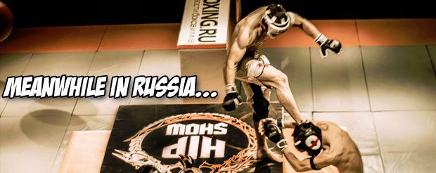 Let's watch the new promo from that insane Russian 'Hip Show' thing