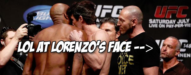 An Anderson Silva fan nearly punched Chael Sonnen at the TUF 17 Finale