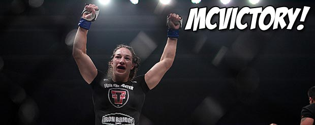 Sara McMann pretty much just dominated Sheila Gaff at UFC 159