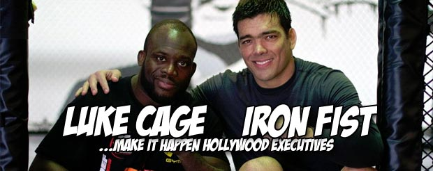 We've never seen someone run this fast from Melvin Manhoef