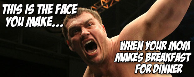 Look who is back! It's Matt Mitrione! He's now unsuspended and fighting on UFC on FOX 8