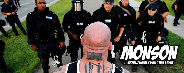 We dare you to caption this highly confusing Jeff Monson photo