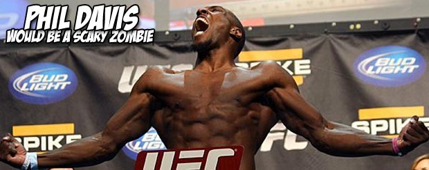 In the battle of wrestling vs. BJJ, Phil Davis jabs his way to a victory  over Vinny Magalhaes