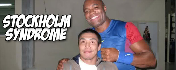 Ryo Chonan thinks everyone complaining about the 'Rising Sun' on GSP's gi is an idiot