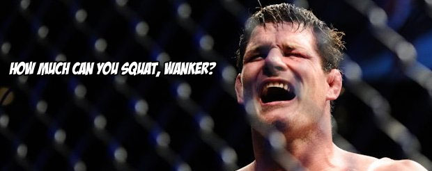 Even Bisping's strength and conditioning coach has beef with the Belcher camp's bravado