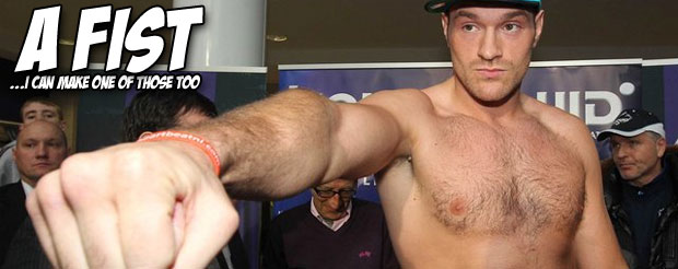 Dana White offers boxer Tyson Fury an opportunity to get brutalized by Cain Velasquez