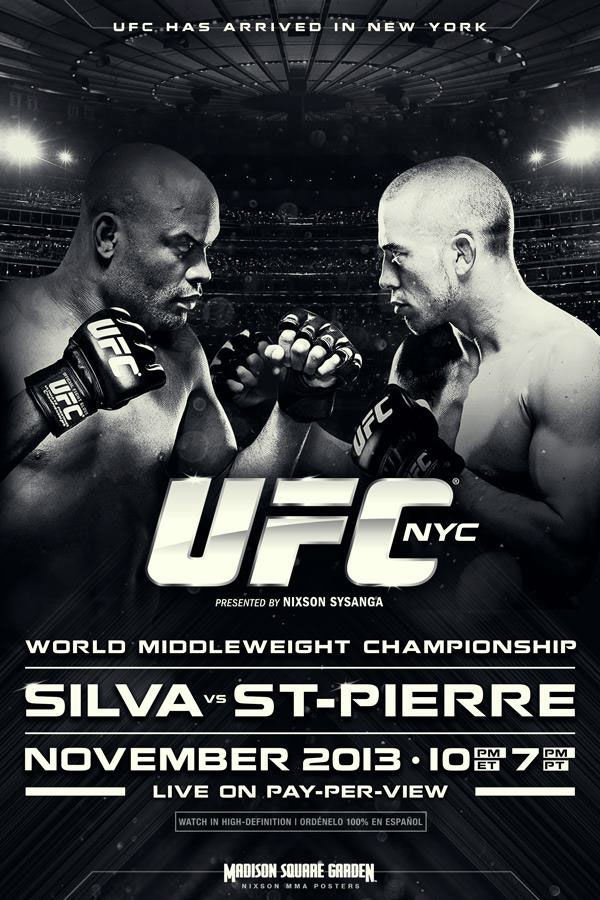 Check out the poster of the UFC card that will NEVER happen, ever