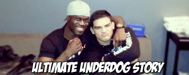 Kelvin Gastelum just became the ultimate underdog winner! Er, the Ultimate Fighter!