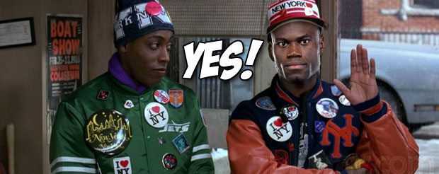 Uriah Hall does his best Coming to America impression, and it's friggin' amazing…