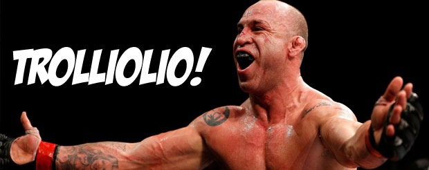 Wanderlei Silva took a ride on the LOLcopter, he's NOT fighting Gegard Mousasi