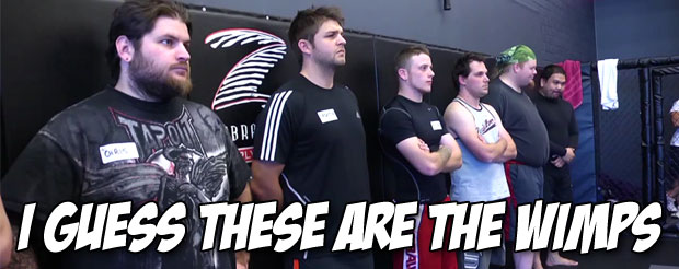 There's a free MMA reality show on the net called 'Wimp 2 Warrior' and you probably didn't even know