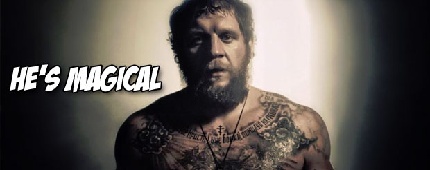 Aleksander Emelianenko is decapitating sand monsters in this new promo