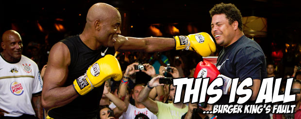 According to Brazil, Anderson Silva has a fractured rib and UFC 162 may be in jeopardy