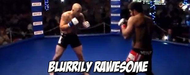 This slugfest will end in one of the best knockouts you'll see all week, we promise